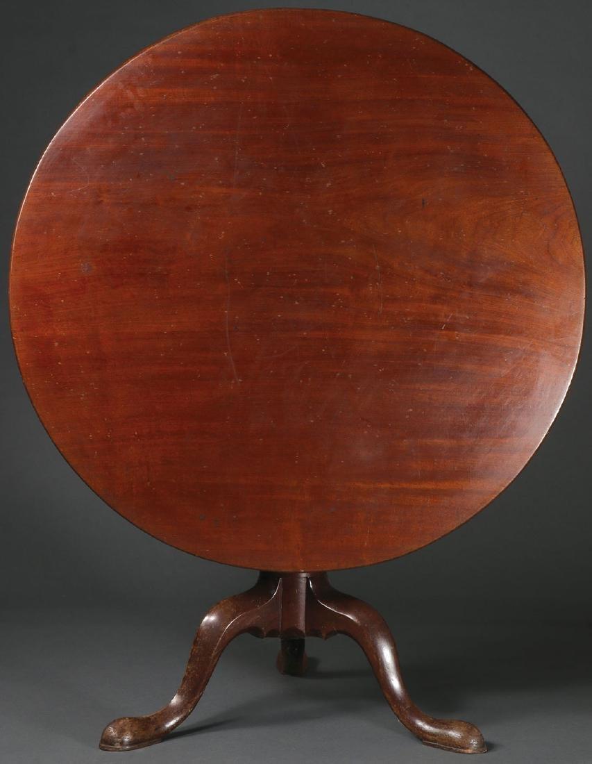PERIOD CHIPPENDALE TEA TABLE, RI, 1750-1780