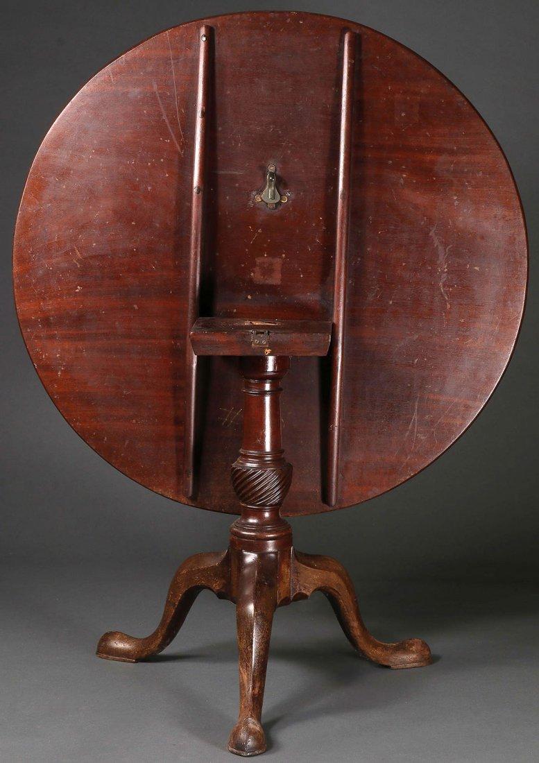 PERIOD CHIPPENDALE TEA TABLE, RI, 1750-1780 - 6