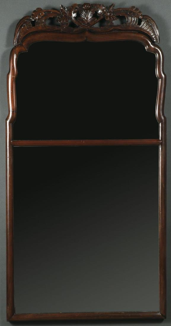 A QUEEN ANNE MIRROR, LIKELY 18TH CENTURY
