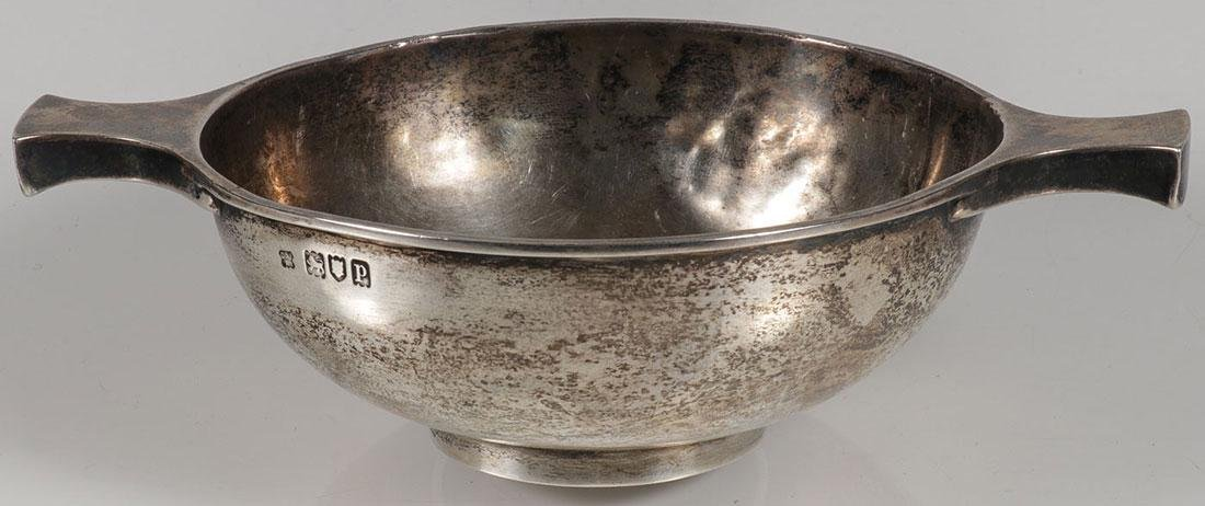 THREE SILVER OBJECTS CIRCA 19TH CENTURY - 2
