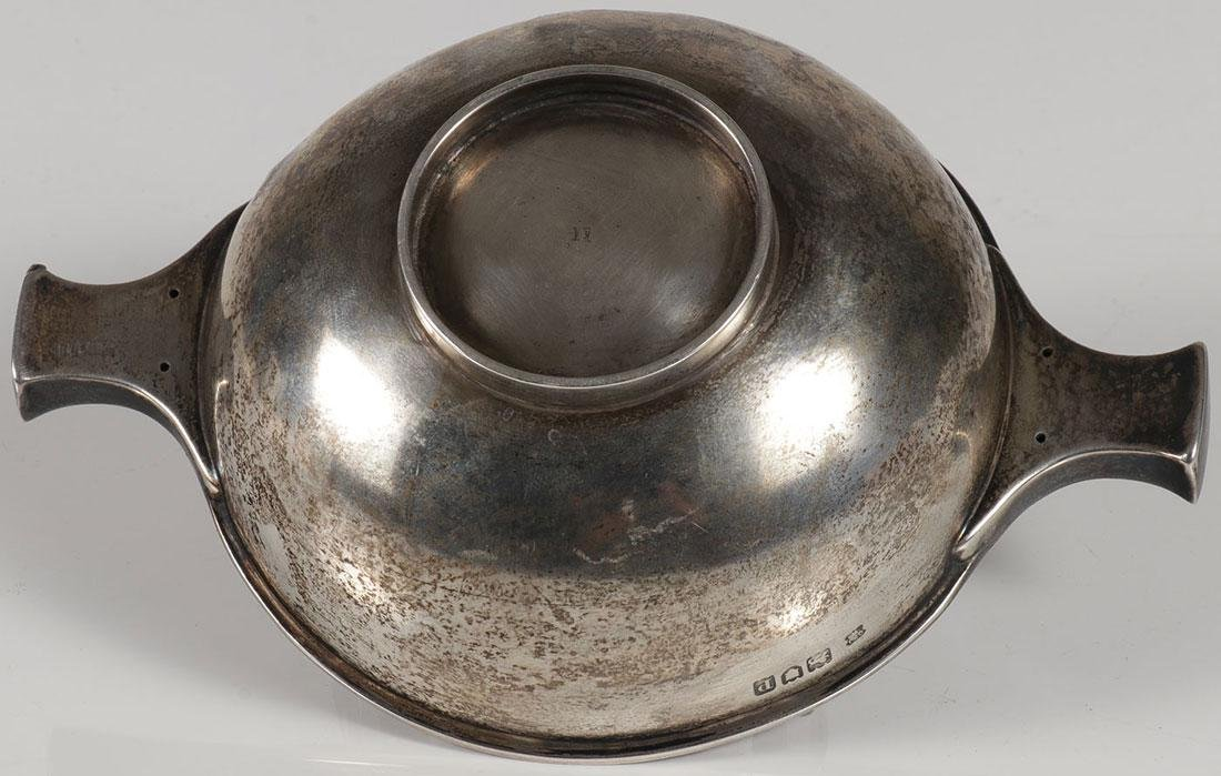 THREE SILVER OBJECTS CIRCA 19TH CENTURY - 3