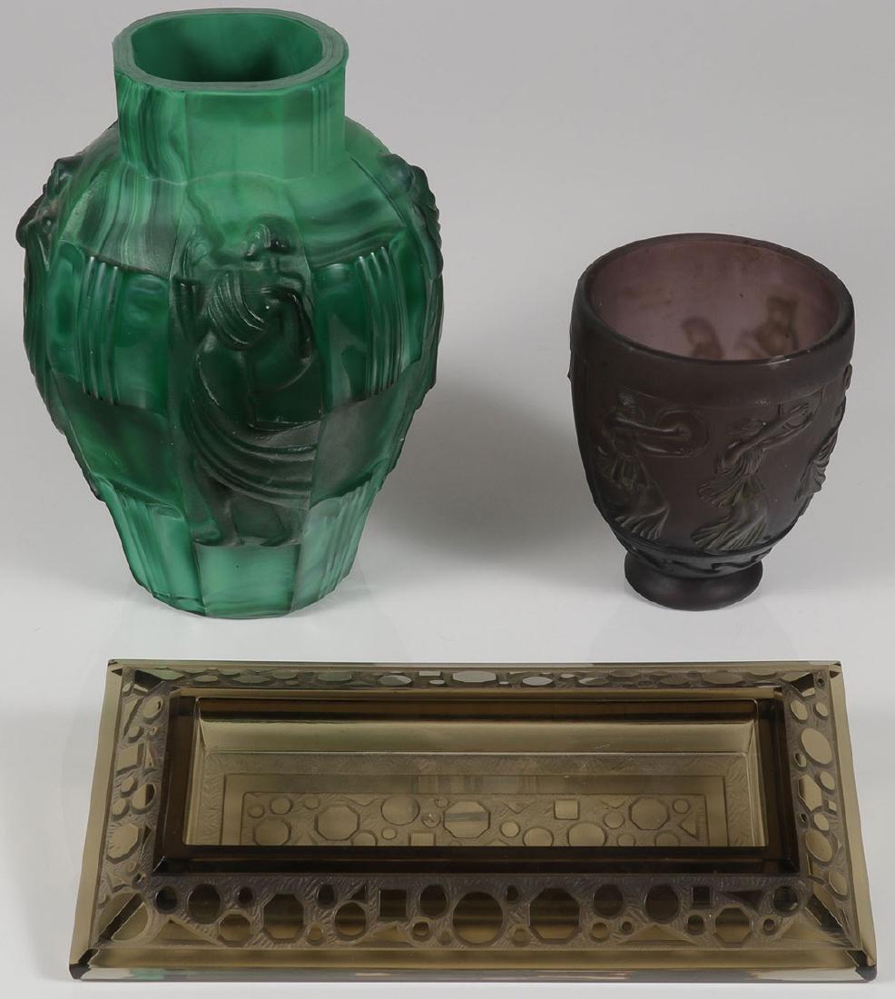 SCHLEGVOGT, DE FEURE & VERLYS GLASS, C. 1915-1930