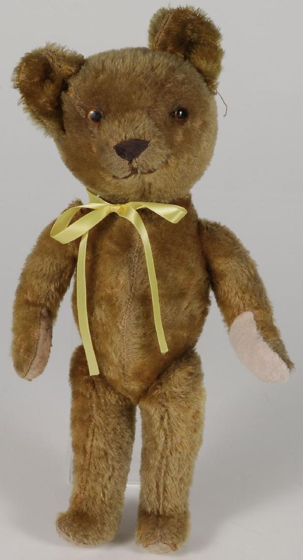A MOHAIR TEDDY BEAR, CIRCA 1920