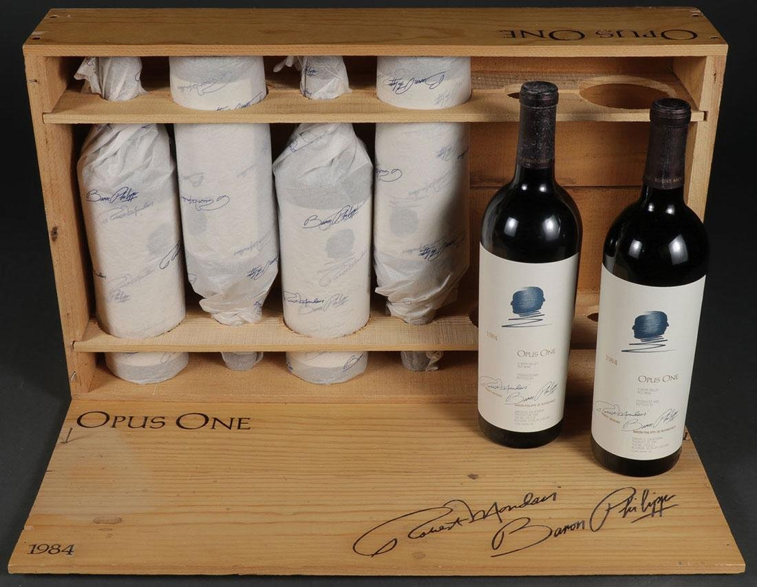 A CASE OF OPUS ONE RED WINE, VINTAGE 1984