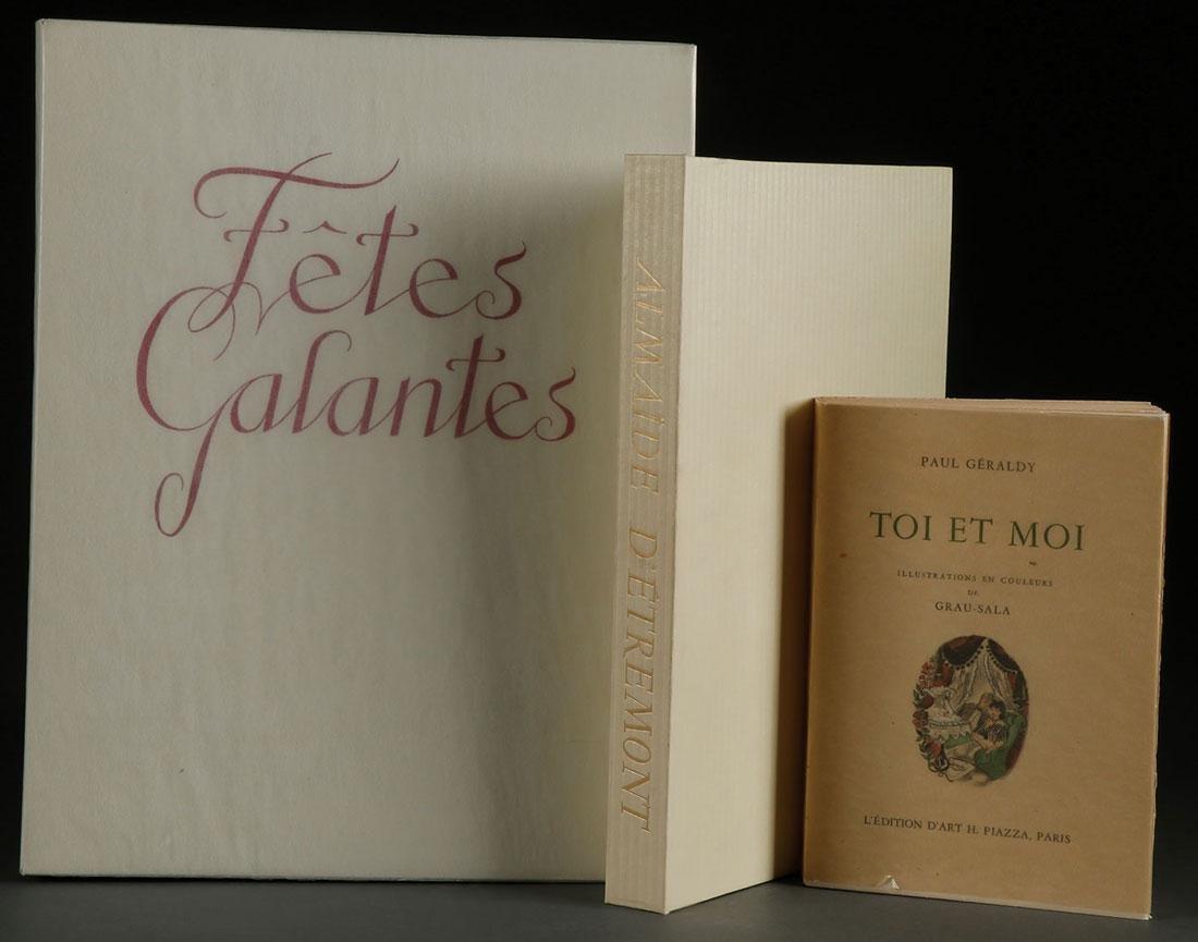 GRAU-SALA  BOOKS COMPRISING FETES GALANTES