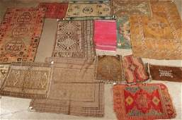 1214: A LARGE GROUP OF 15 RUGS by assorted oriental rug