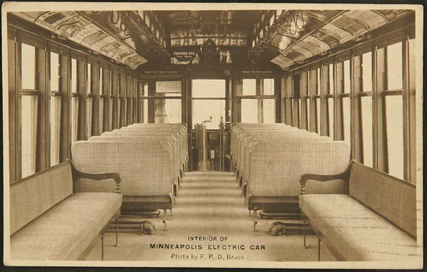 1514:  RPPC 1907 Minneapolis.  Electric car Bruce