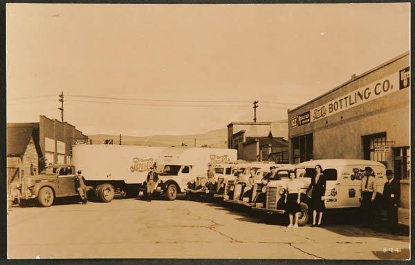 1520: RPPC  Livingston, Montana.  Pepsi Cola delivery