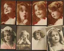 1717 46 RPPC edwardian young girls pretty girl posing