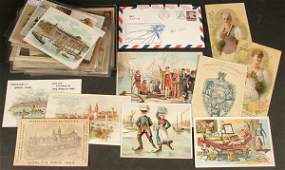 2131: VICTORIAN ERA TRADE CARDS & ADVERTISING EPHEMERA