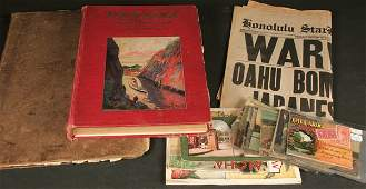 2137: PANAMA AND THE CANAL BOOK together with a collect