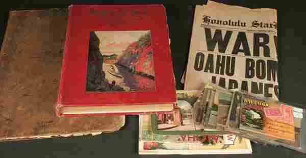 PANAMA AND THE CANAL BOOK together with a collect