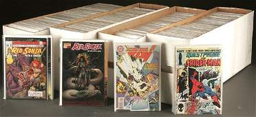 2276: APPROX. 900 COMIC BOOKS including Nightwing, Ninj