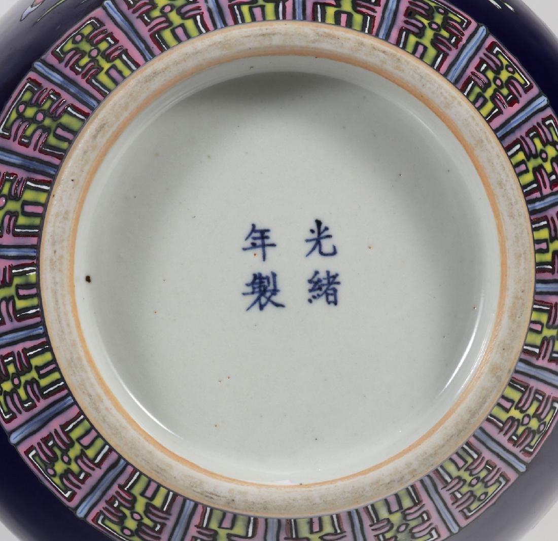 AN IMPRESSIVE CHINESE PORCELAIN FLORAL VASE - 2