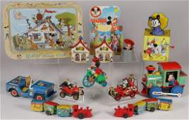 AN INTERESTING GROUP OF 14 DISNEY ITEMS