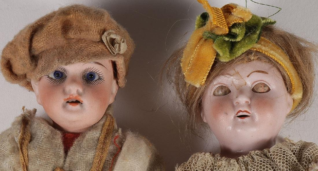 13 ANTIQUE DOLLS - 2