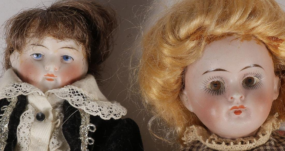 13 ANTIQUE DOLLS - 3