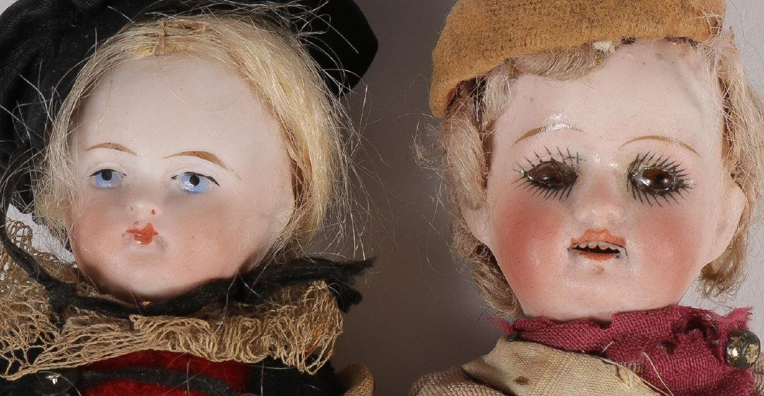 13 ANTIQUE DOLLS - 4