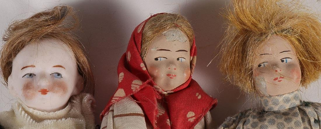 13 ANTIQUE DOLLS - 7