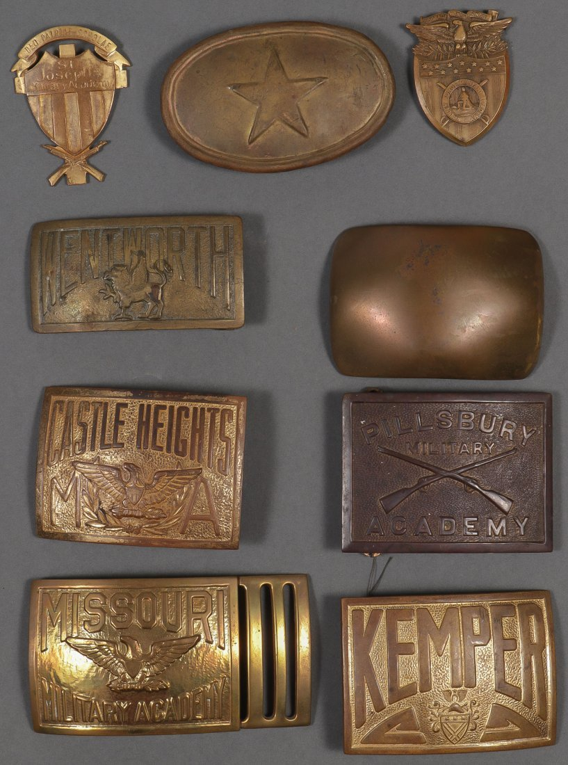 LARGE MOSTLY U.S. MILITARY LOT, 19TH/20TH CENTURY