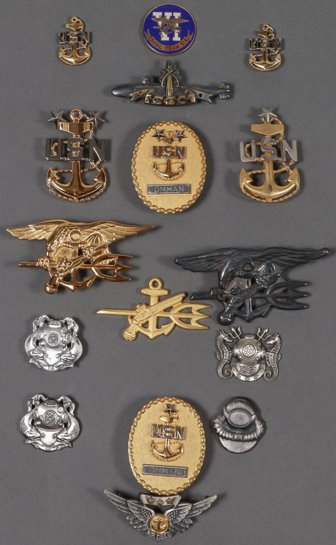 LARGE MOSTLY U.S. MILITARY LOT, 19TH/20TH CENTURY - 2