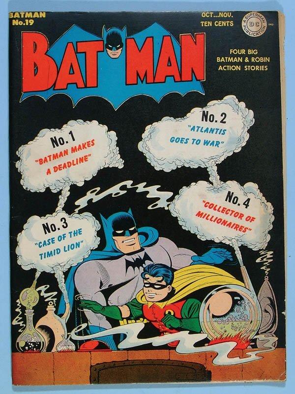 1176: FIVE BATMAN COMIC BOOKS - ISSUES 19, 20, 21, 24,