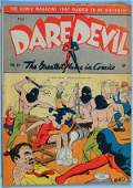 1193 A GROUP OF 22 MISCELLANEOUS COMIC BOOKS Daredevi