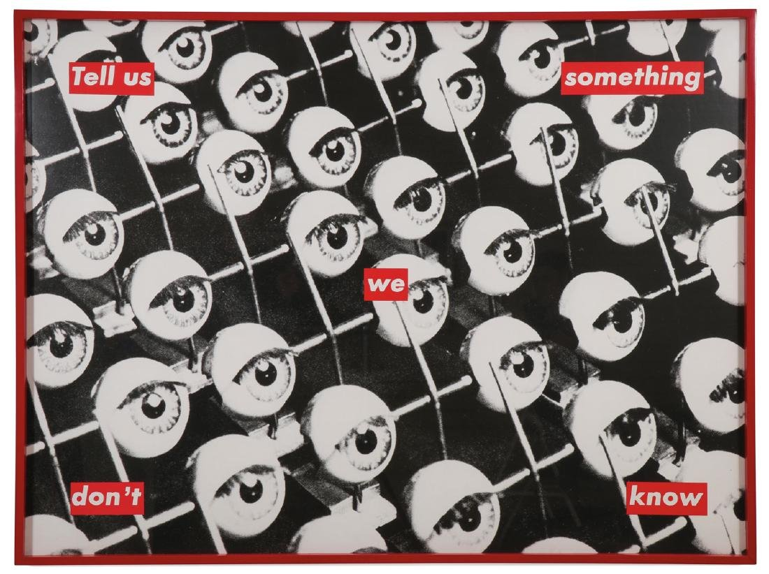 IMPORTANT ORIGINAL BARBARA KRUGER