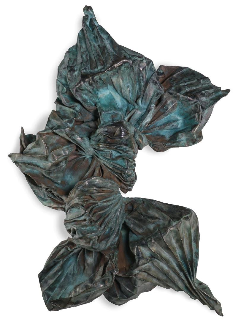 LARGE & IMPORTANT LINDA BENGLIS SCULPTURE, 1986