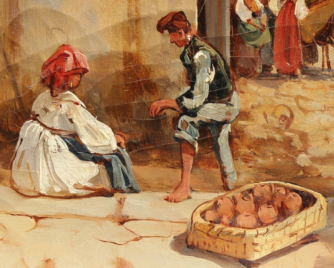 GOOD GIACINTO GIGANTE NAPLES SCENE 1839 - 4