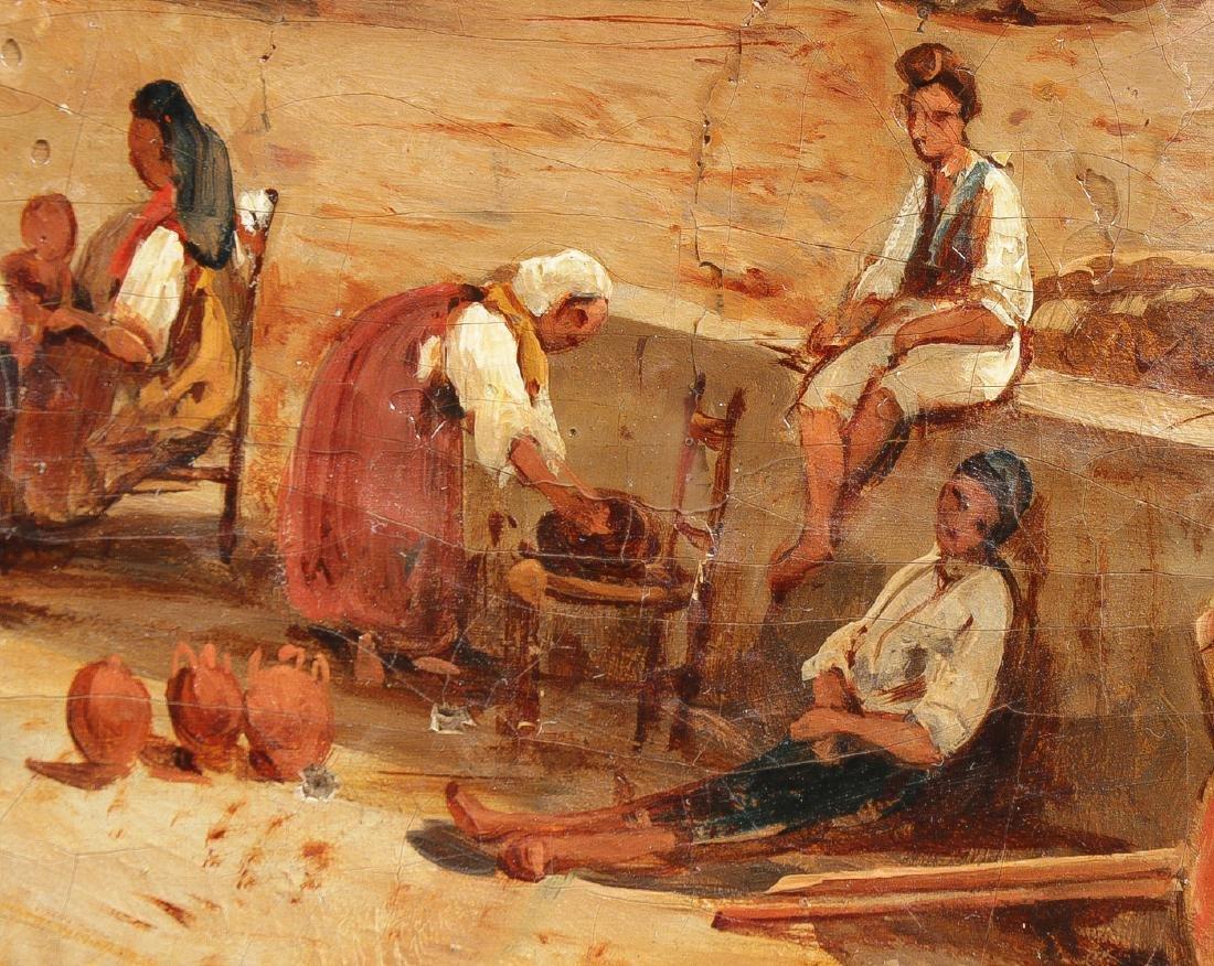 GOOD GIACINTO GIGANTE NAPLES SCENE 1839 - 5