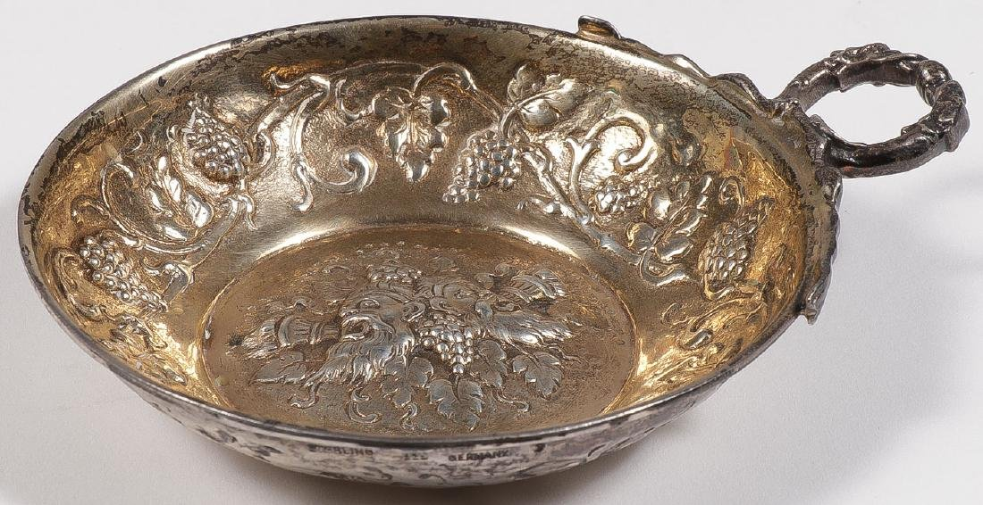 A GROUP OF 22 SILVER TASTEVIN, 19TH & 20TH C - 3