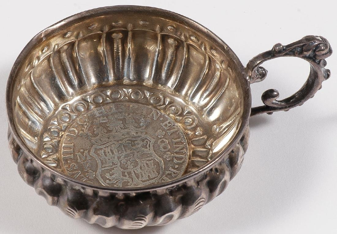 A GROUP OF 22 SILVER TASTEVIN, 19TH & 20TH C - 4
