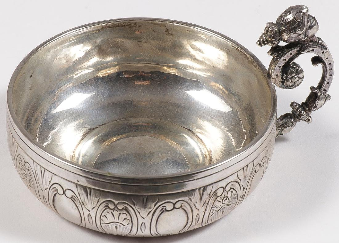 A GROUP OF 22 SILVER TASTEVIN, 19TH & 20TH C - 5