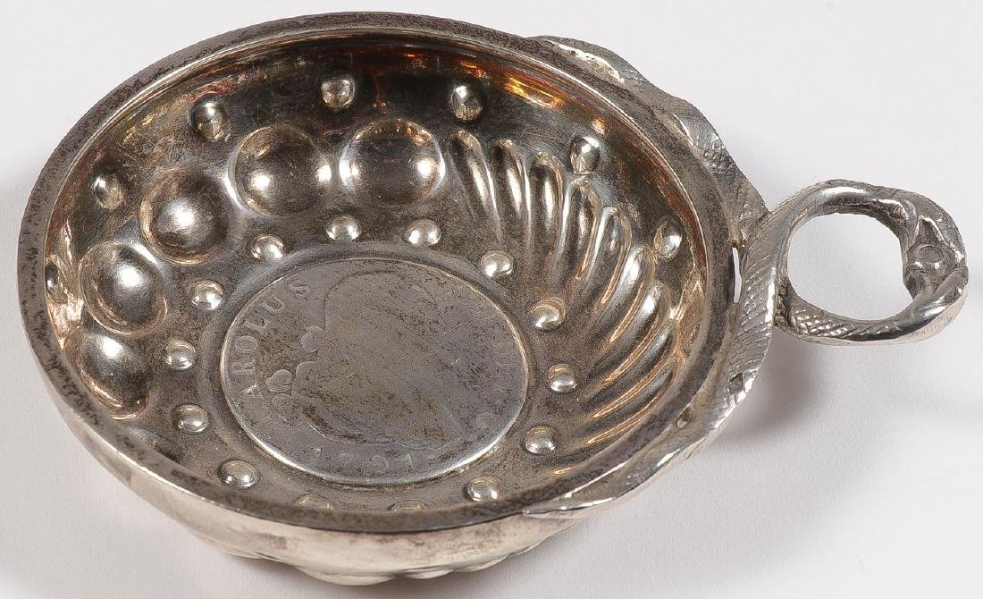 A GROUP OF 22 SILVER TASTEVIN, 19TH & 20TH C - 6