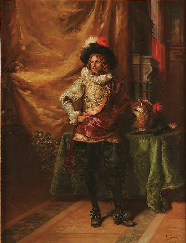 3: CESARE AUGUSTE DETTI (1847-1914), The Noble Knigh