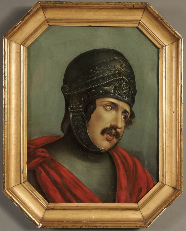 8: FRENCH SCHOOL (19th century), A Knight with Ornat