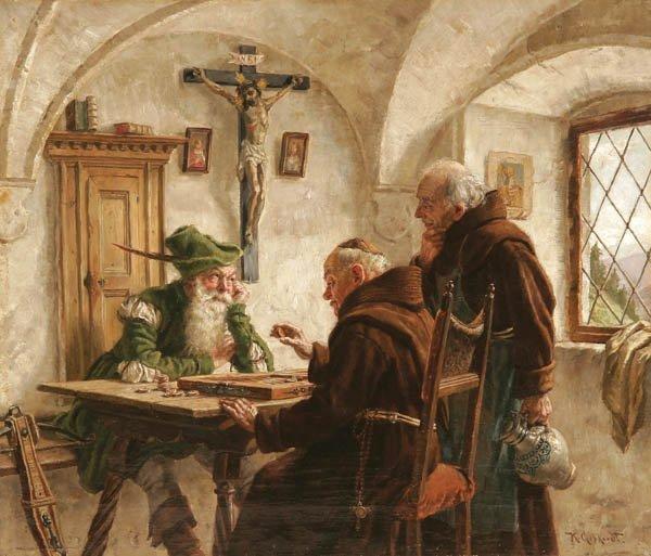 12: KARL GEPHARDT , (German 1860-1917), The Final Mov