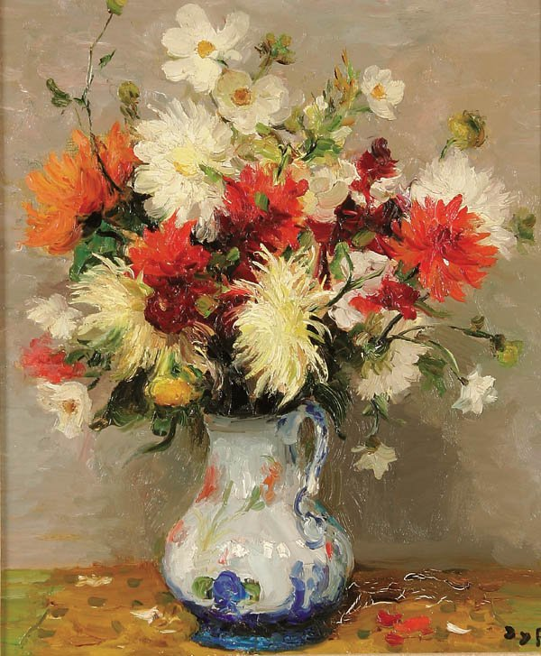 22: MARCEL DYF (French 1899-1985), Floral Still Life