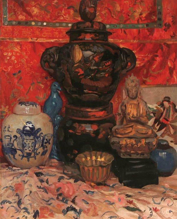 24: HENRI MARCHAL (French 1878-1942), Oriental Still