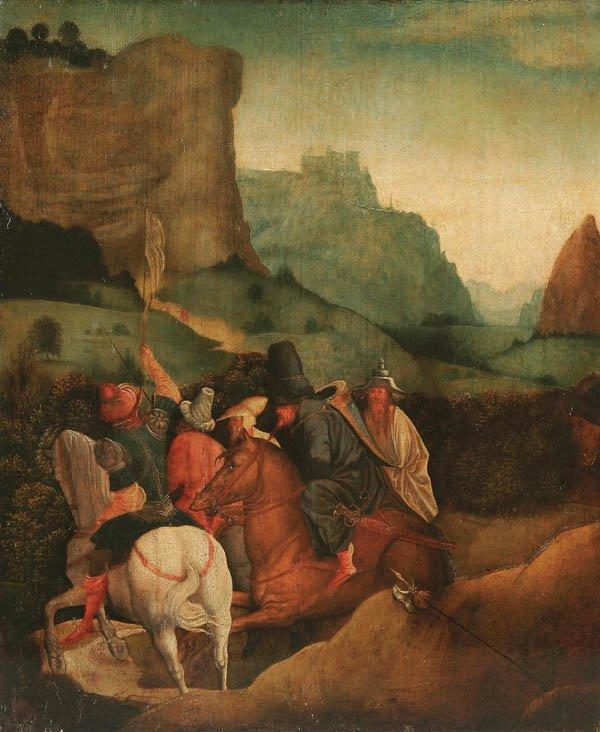 325: JAN SWART VAN GRONINGEN (Dutch born c. 1500-died