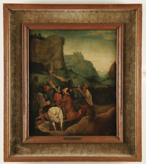 325: JAN SWART VAN GRONINGEN (Dutch born c. 1500-died - 2