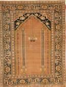 1289 A FINE PERSIAN TABRIZ HAND WOVEN ORIENTAL RUG cir