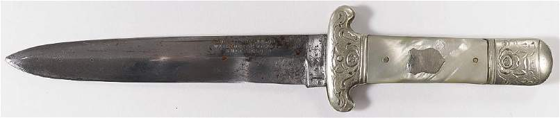 WOSTENHOLM & SON MOP BOWIE KNIFE