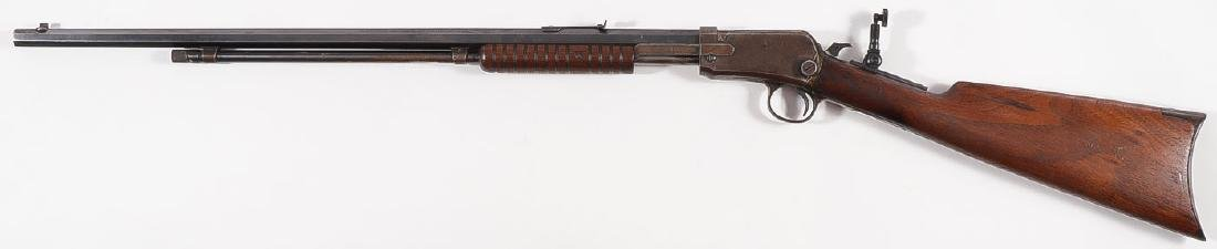 A WINCHESTER MODEL 1890 .22 RIFLE