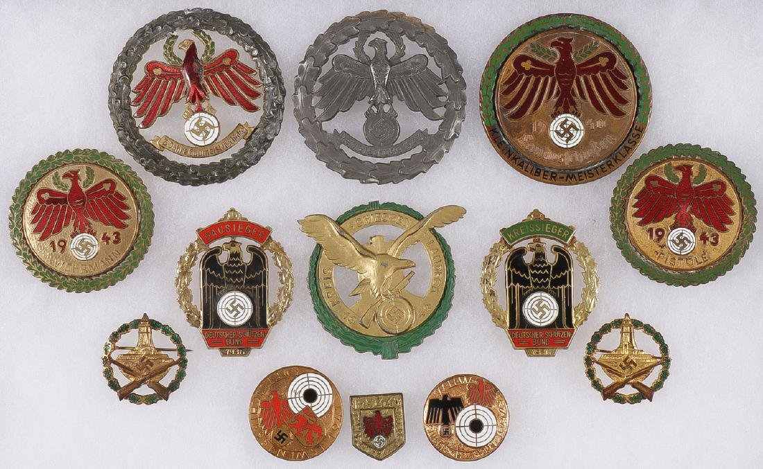 GERMAN WWII SHOOTING BADGES