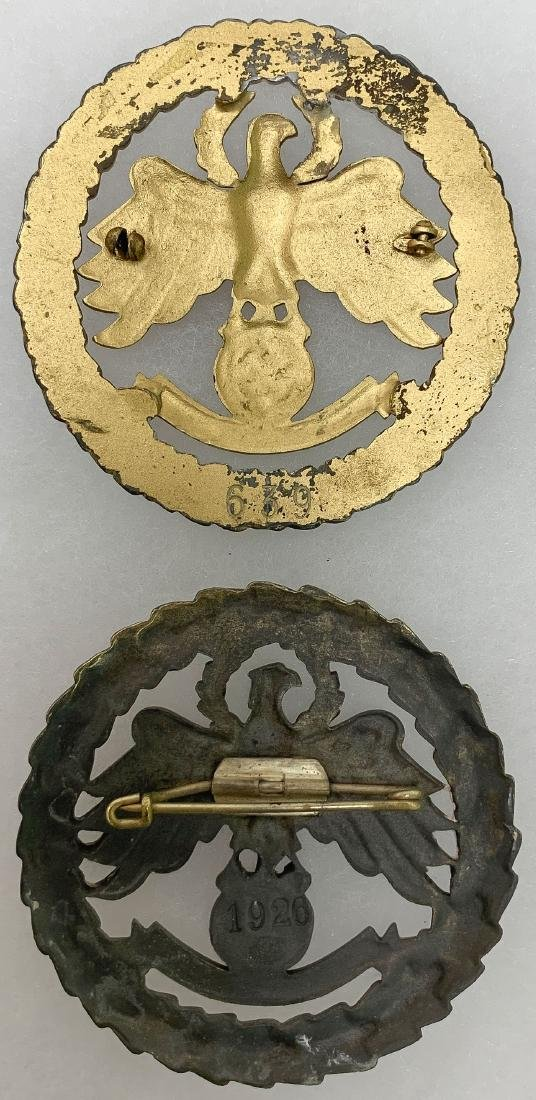 GERMAN WWII SHOOTING BADGES - 4