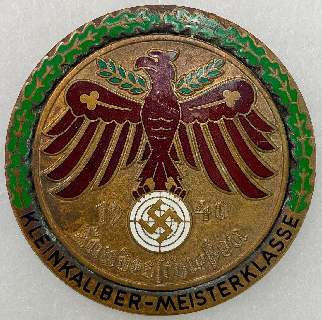 GERMAN WWII SHOOTING BADGES - 5