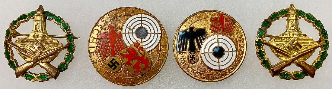 GERMAN WWII SHOOTING BADGES - 7