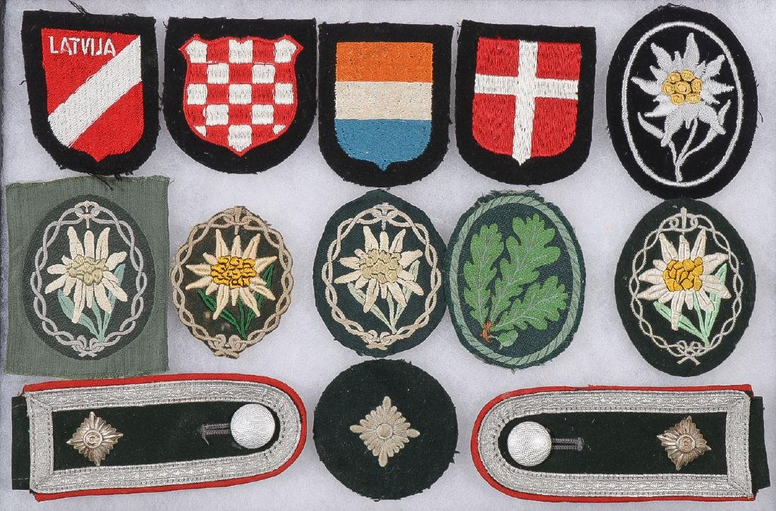 GERMAN WWII SS CLOTH INSIGNIA